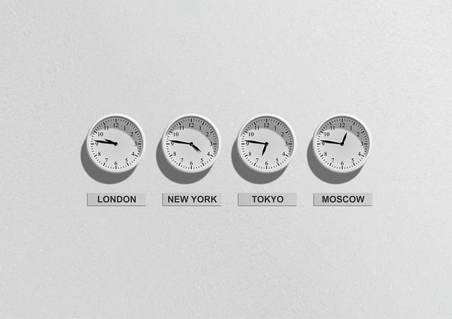 čas ve světě