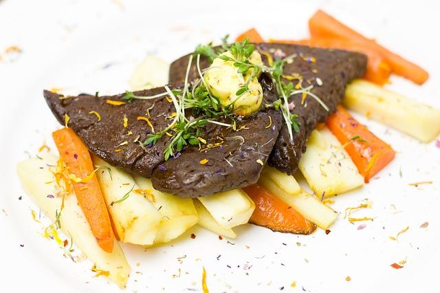 vegetariánské jídlo se seitanem